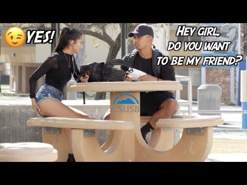 How To Make GIRLFRIENDS In COLLEGE!  *So Easy* (CSUSB)
