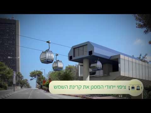 Expectativa: El proyecto del teleférico en Haifa, Israel