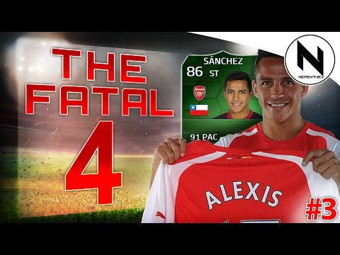 Sanchez - FIFA 14 Ultimate Team, The Fatal 4, FIFA 14 iMOTM Alexis Sanchez, iMOTM Squad Builder, Arsenal Sanchez, Gameplay, Check out these dudes : - Finch : http://www.youtube.com/user/thefinchmeister69...