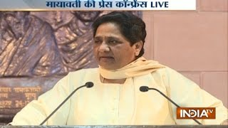 'Call tampered, Naseemuddin Siddiqui a serial blackmailer': Mayawati's defence on 'money tapes'