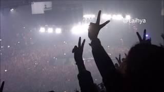 PNL live Bercy final- Interactions avec le public