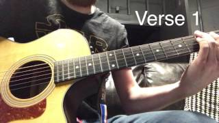 Glorious Day Acoutic Guitar Intro/Verse Tutorial