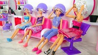Video Rapunzel Barbie Dolls Makeover! Barbie Sparkle Style Salon kecantikan Boneka Barbie Friseursalon MP3, 3GP, MP4, WEBM, AVI, FLV Maret 2019