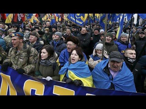 Πορεία εθνικιστών στο Κίεβο