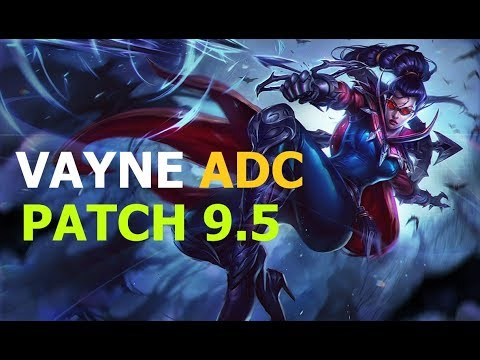 SKT T1 Teddy Play Vayne ADC Patch 9.5 Korean Pro Replays