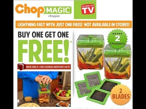 ASOTV Chop Magic - Chop, Mince, Cube, Slice & Dice!