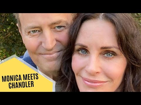 Courteney Cox Shares Photo of Matthew Perry as the Friends Stars Reunite | Hollywood News