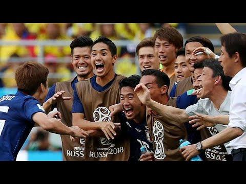 Fußball-WM: Japan schlägt Kolumbien mit 2:1