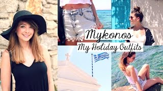 Mykonos 2015 Outfit Diary Vlog Channel: http://bit.ly/1K4Se0H I HAVE NEW PRODUCTS: http://bit.ly/1H2Oo5C Outfit 1: Black Hat ...