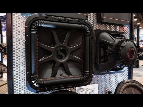 Kicker L7R - New Square CompR Subwoofers for 2018 (видео)