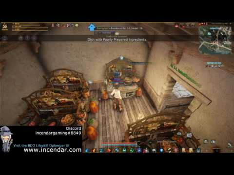 FAST Power Leveling CP XP Contribtuion Points Cooking Or Alchemy UPDATE Black Desert Online 1080p