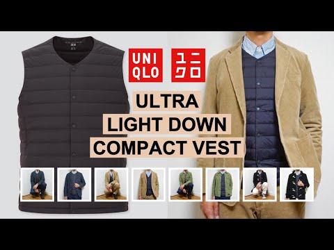 【UNIQLO】30代メンズの ウルトラライトダウン ベスト 着回しコーデ提案&購入レビュー(ユニ … видео