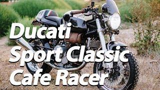 6. Ducati Custom Cafe Racer Project  - 2007 GT1000 Sport Classic