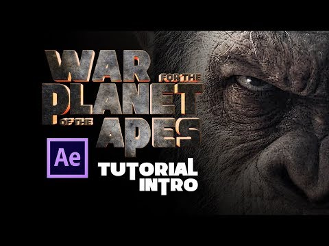 Tutorial After Effects Intro De Película Con Texto 3d Sin Plugins By @ildefonsosegura