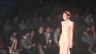Bangkok Fashion Week 2010 Oct 21 Part 1