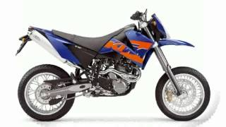 6. 2005 KTM SXC 625 - Review