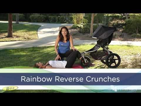 BOB & FIT4MOM - Rainbow Reverse Crunch