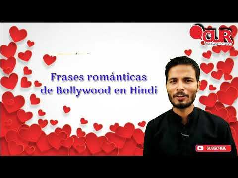 Frases românticas - Cómo decir frases románticas de Bollywood en Hindi