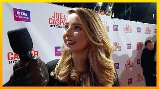 Interview with Zoella - Joe & Caspar Hit The Road Red Carpet Premiere