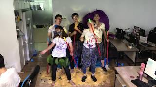 Video E05 Make a  water bed with balloons in Office  Enjoy your afternoon nap   Ms Do MP3, 3GP, MP4, WEBM, AVI, FLV Juli 2018