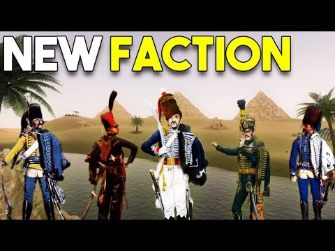 NEW Napoleonic Wars MAP, FACTION, UNITS - Mount and Blade DLC's BIGGEST UPDATE! (видео)