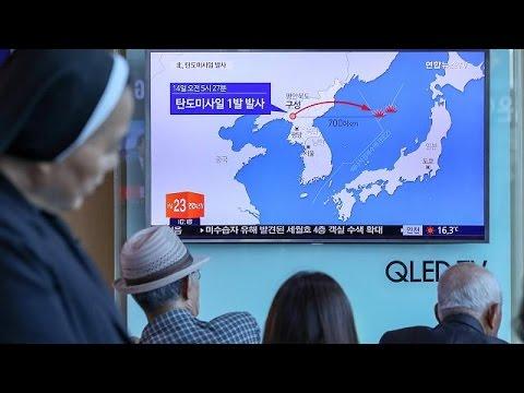 Βόρεια Κορέα: Διεθνής κατακραυγή για τη νέα πυραυλική δοκιμή