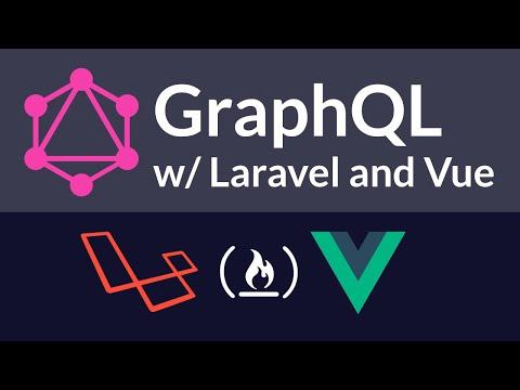ویدئو آموزش ساخت یه پروژه با لاراول-گرافکیوال-ویو جیاس