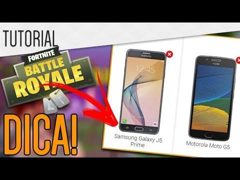 Tudocelular - Fortnite Mobile  SAIBA SE SEU CELULAR VAI RODAR!