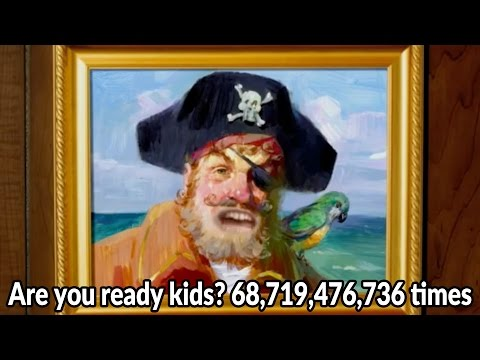 Are you ready kids? 68,719,476,736 times (видео)