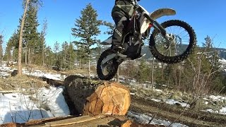 3. Husqvarna TXC 250 - First Enduro Ride Of Season - Canada