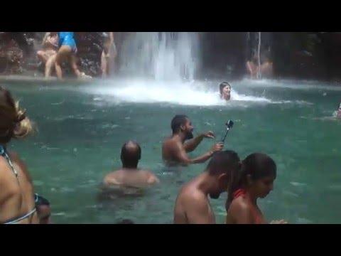 Cavalcante GO Cachoeira de Santa Barbara