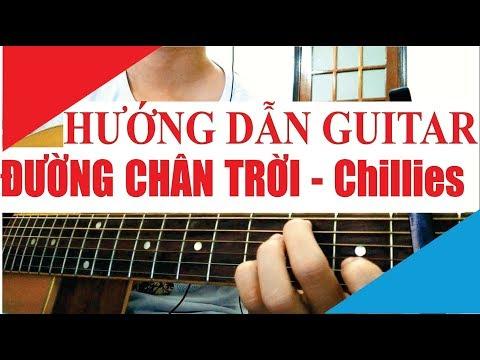 [Hướng dẫn Guitar] ĐƯỜNG CHÂN TRỜI - CHILLIES | Tony Vịt