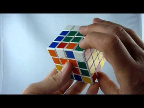 Anfängerlösung 4x4x4 Zauberwürfel, Rubik's Master Cube Tutorial