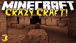 """""""EPIC DUNGEON!"""" - Crazy Craft 2.0 (Minecraft Modded Survival) - #3"""