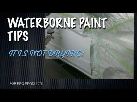 0 Waterborne Paint Drying Problem Solved