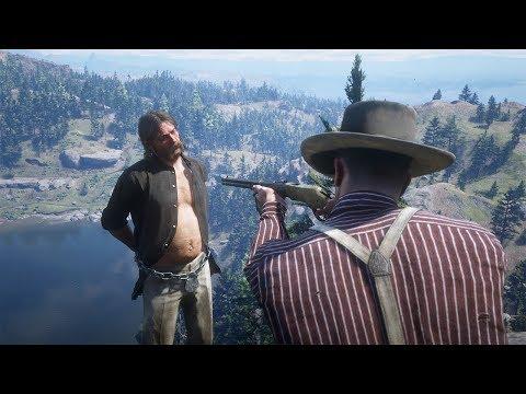 Red Dead Redemption 2 PC 60FPS - Funny & Brutal Moments Vol. 48 (Euphoria Ragdolls)