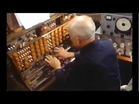 Oskar Sala - Improvisation Mixtur-Trautonium (1) - 1987