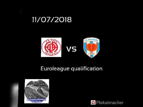 CS Fola Esch (LUX) vs. FC Prishtina (KOS) 11/07/2018