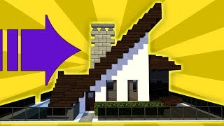 Minecraft: How To Build A Small Modern House Tutorial - 2018