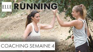 Candice Anzel du blog « Family-deal.com » a pour objectif de courir les 10 km de la course à pied « ELLE Run ». Seul problème, elle n'a pas fait de sport de depuis des années. Pendant deux mois, elle va alors s'entraîner avec Marine Leleu, sportive émérite arrivée seconde à l'Ironman en 2015. Voici la quatrième séance de coaching.Abonnez-vous à la chaîne ELLE : http://bit.ly/YouTubeELLERetrouvez ELLE, le magazine féminin de la mode, de la beauté et de toute l'actualité des femmes sur : Elle.fr : http://www.elle.frElle Vidéo : http://videos.elle.frFacebook : https://www.facebook.com/elleTwitter : https://twitter.com/ELLEfrancePinterest : http://www.pinterest.com/magazineellefr/REMERCIEMENTS :Marine Leleu Instagram : https://www.instagram.com/marinlle/?hl=frYoutube : https://www.youtube.com/channel/UCqK1waQtKyHfjEEtMfxvudgCandice AnzelFaceboook : https://www.facebook.com/mamanimparfaites/Site : http://www.family-deal.com/Insta :  candice_mamgyverProduction : LEDCopyright : ©ELLE 2017