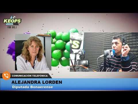 Diputada Lordén contó detalles sobre las obras que se están realizando en hospitales de la Provincia