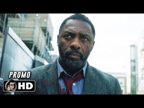 LUTHER Season 4 Official Promo Trailer (HD) Idris Elba
