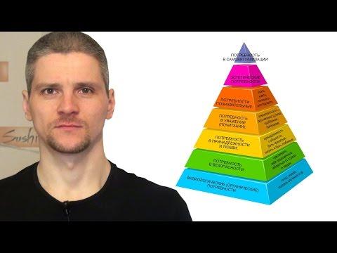 Условность пирамиды Маслоу