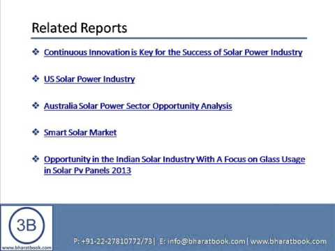 Bharat Book Presents : Indian Solar Power Industry Outlook to 2017