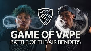 Video Battle Of The Air Benders | GAME OF V.A.P.E MP3, 3GP, MP4, WEBM, AVI, FLV Juli 2018