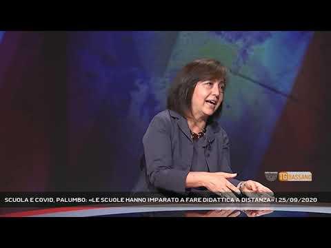 SCUOLA E COVID, PALUMBO: «LE SCUOLE HANNO IMPARATO A FARE DIDATTICA A DISTANZA»   25/09/2020