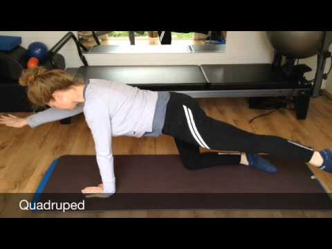 Pilates exercises for riders