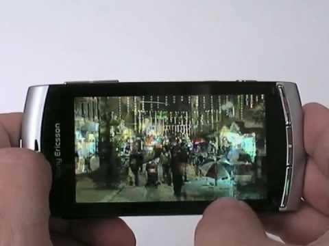 Sony Ericsson Vivaz Hands On