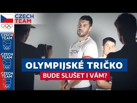 Olympijské tričko bude slušet i tobě!