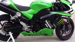 9. 2007 Kawasaki Ninja ZX10R Monster Edition